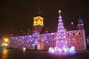 Ostatni wieczór ze świąteczną iluminacją