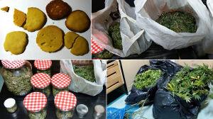 Podejrzane ciastka i marihuana. 26-latek z zarzutami