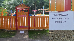 """Plac zabaw: zbudowali i zamknęli. """"Nieprzewidziane okoliczności"""""""