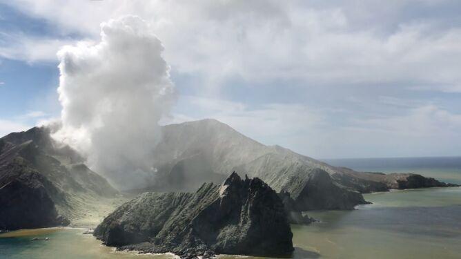 Wysokie ryzyko ponownego wybuchu <br />wulkanu White w Nowej Zelandii