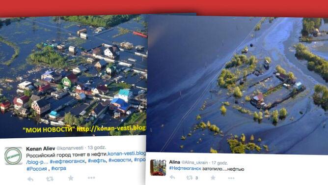 Fala ropy zalała domy i uprawy