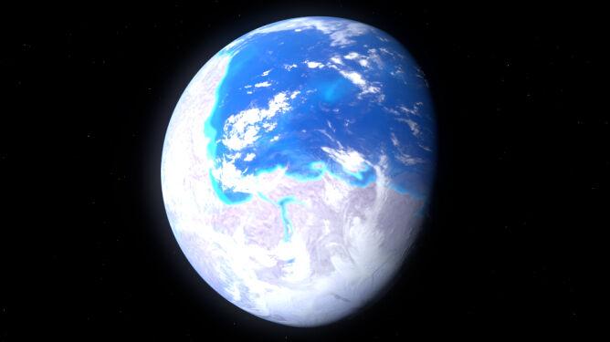 Nowe fakty teorii Ziemia-śnieżka