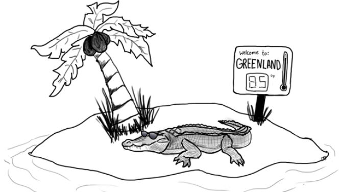 Krokodyl na biegunie? W prehistorii było to możliwe