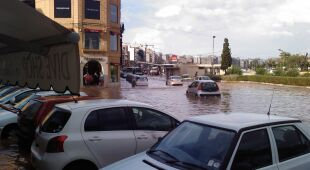 Powódź na Malcie (Kontakt24/Krzysztof)