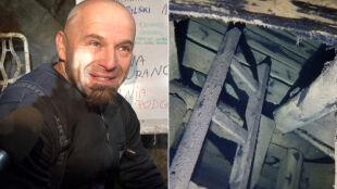 Rekord Polski w nurkowaniu głębinowym. 157 m w głąb kopalni uranu