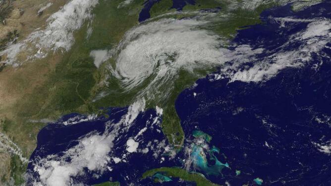Zobacz, jak huragan Harvey zmienił Zatokę Meksykańską