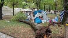 Załamanie pogody we Włoszech (PAP/EPA/RICCARDO DALLE LUCHE)