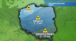 Warunki drogowe w piątek 16.04