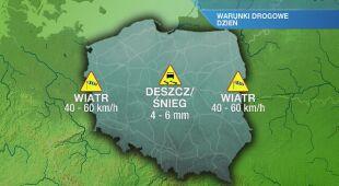 Warunki drogowe w czwartek 30.01